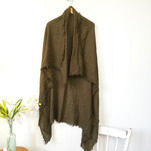 🌟 FREE w/ Purchase Zara Olive Blanket Scarf
